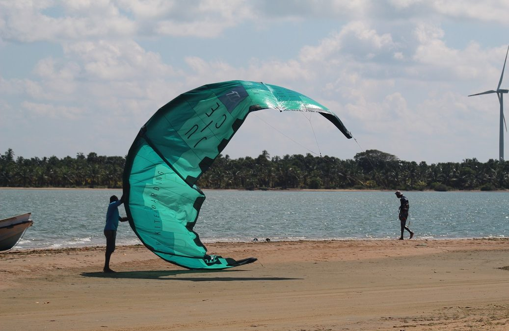 Kitesurfing in Sri Lanka = Best kite spots in Sri Lanka