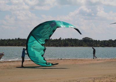 kitesurfing spots in Sri Lanka