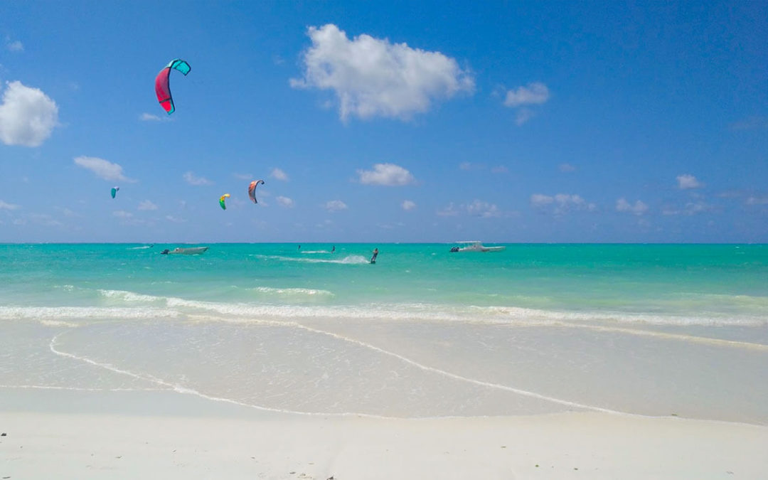 The ultimate guide with the top kitesurfing destinations to learn kitesurf