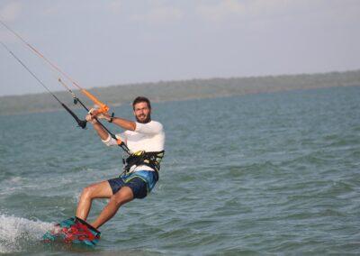 kitesurfing in Sri Lanka December