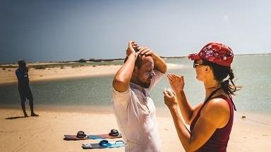vella island sri lanka kitesurfing
