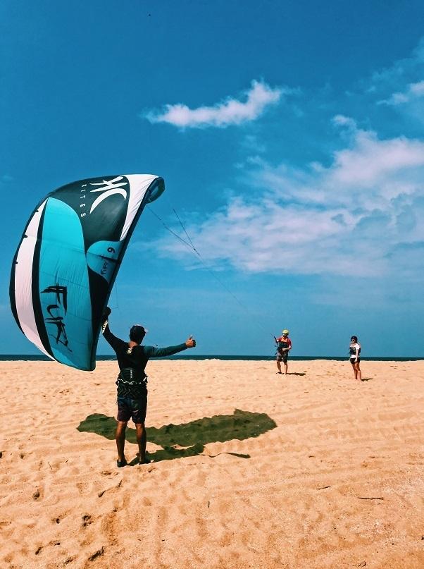 kitesurfing gear maintenance