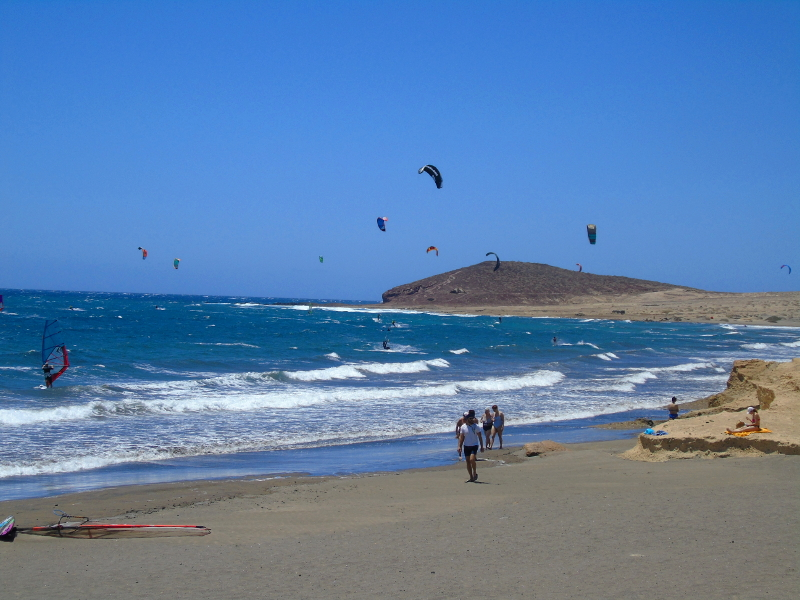The medano, an excelent kite destination in the world