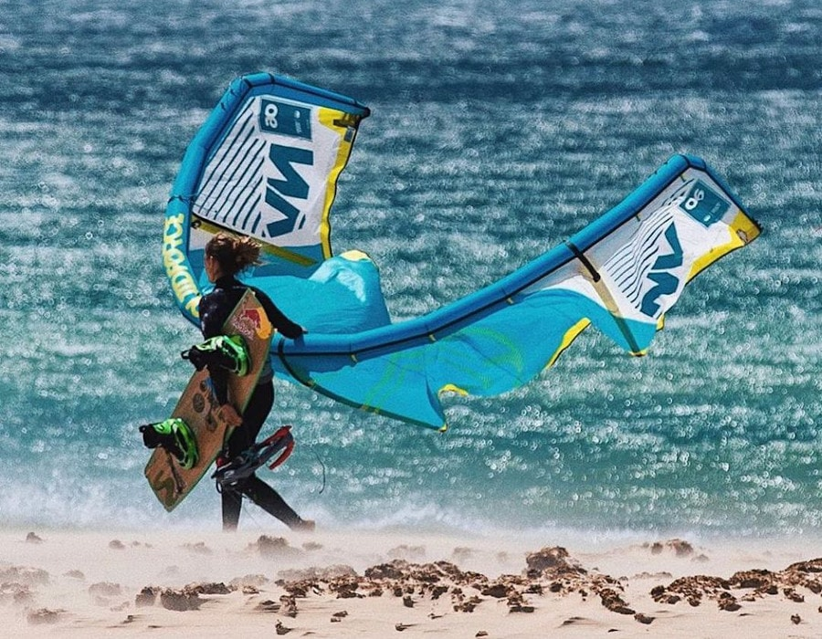 kitesurfing locations worldwide - la ventana