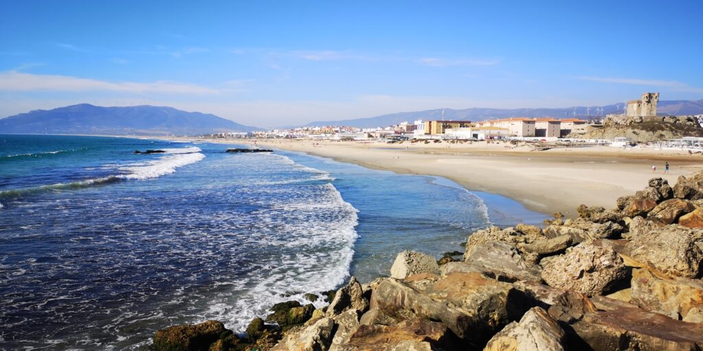 tarifa is considered one of the top places for kitesboarding in the world